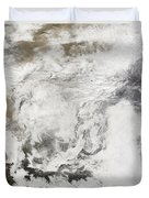 Heavy Snowfall In China Duvet Cover by Stocktrek Images