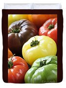 Heirloom Tomatoes Duvet Cover