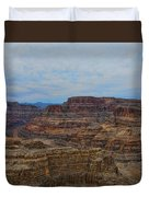 Helicopter View Of The Grand Canyon Duvet Cover