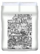 Henry Iv Of France Duvet Cover