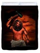 Hephaestus Duvet Cover by Lourry Legarde