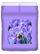 Here Come The Croci Duvet Cover