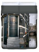 Herengracht 395 Bis. Amsterdam Duvet Cover