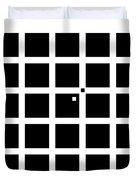 Hermann-hering Illusion Duvet Cover