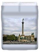 Heros Square - Budapest Duvet Cover