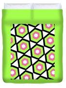 Hexagon Duvet Cover