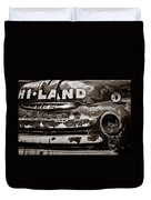Hi-land  -bw Duvet Cover by Christopher Holmes