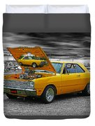 Hi-powered Dodge Abstract Duvet Cover