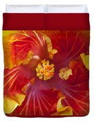 Hibiscus Center Duvet Cover