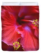 Hibiscus Duo Duvet Cover