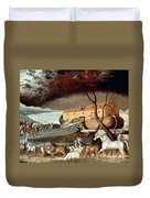 Hicks: Noahs Ark, 1846 Duvet Cover