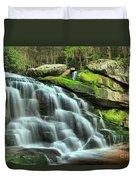 Hidden Elakala Falls Duvet Cover