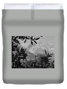 Hidden View Bw Duvet Cover