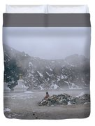 High In The Himalayas Duvet Cover