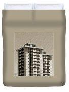 High Rise Apartments Duvet Cover