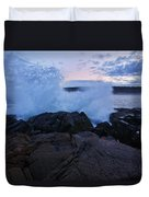 High Tide At Dusk Duvet Cover