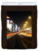 Highway And Hotels Duvet Cover