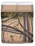 Highway Planet Art Duvet Cover