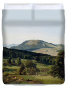 Hill And Dale Duvet Cover