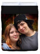 Him 'n Her - Young Lovers Duvet Cover