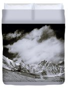 Himalayan Mountain Range Duvet Cover