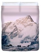 Himalayas In Nepal Duvet Cover