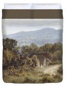 Hindhead From Sandhills Witley Duvet Cover
