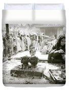 Hindu Festival Duvet Cover