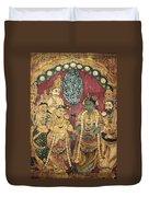 Hindu Wedding Ceremony Duvet Cover