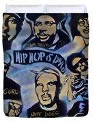 Hip Hop Is Dead #1 Duvet Cover