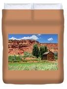 Historic Bicknell Grist Mill - Utah Duvet Cover
