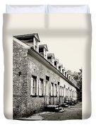 Historic Row Homes Allaire Village Duvet Cover