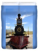 Historic Steam Locomotive Duvet Cover