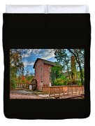 Historic Woods Grist Mill Duvet Cover