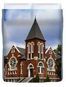 Historical 1901 Uab Spencer Honors House - Birmingham Alabama Duvet Cover