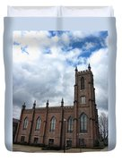 Historical 1st Presbyterian Church - Gates Avenue Se Huntsville Alabama Usa - Circa 1818 Duvet Cover