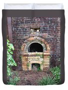 Historical Antique Brick Kiln In Morgan County Alabama Usa Duvet Cover