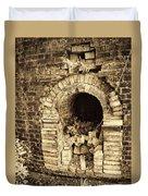 Historical Brick Kiln Oven Opening Decatur Alabama Usa Duvet Cover