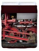 Historical Steam Train Duvet Cover