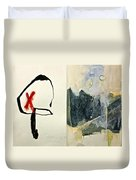 Hits And Mrs Or Kami Hito E 1  Duvet Cover