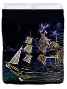 H.m.s. Bounty Duvet Cover