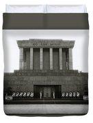 Ho Chi Minh Mausoleum Duvet Cover