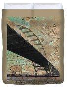Hoan Bridge And Brick Duvet Cover