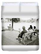 Hoan Kiem Lake Duvet Cover