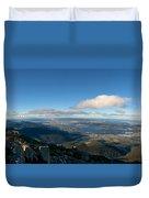 Hobart Tasmania Mount Wellington Duvet Cover