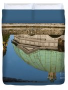 Hofgarten Fountain Duvet Cover