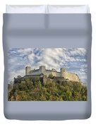 Hohensalzburg Castle Duvet Cover
