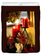 Holiday Candles Hcp Duvet Cover