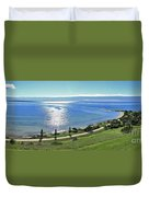 Holiday Horizon Duvet Cover