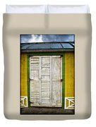 Holliwood Beach Door Duvet Cover
